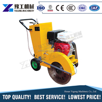 YG walk behind diesel asphalt concrete road cutter robin honda electric asphalt floor road cutting saw machine