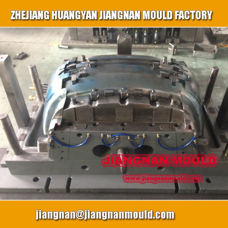 Taizhou Huangyan OEM plastic injection Auto/car Rear Bumper Moulds Manufacturer/Injection Plastic Rear Bumper Molds Maker