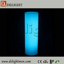 Wholesale luminous rechargeable color changing remote control wedding lighted columns wholesale