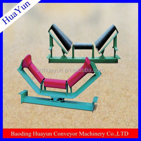 1000mm belt width heavy duty angle steel metal conveyor bracket for conveyor roller support