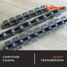 Carbon steel 40Mn C2040 C2052 C2062 C2082 with A1 A2 K1 K2 attachment Industrial chain type industrial roller chain