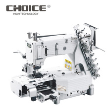 GOLDEN CHOICE GC4404PMD 4N Cylinder-bed Double Chain Stitch Sewing Machine for attaching elastic band