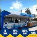 Ark Top Quality Good Price Flatpack Prefabricated sales pavillion