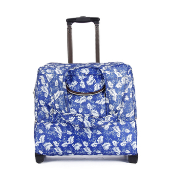 Fancy wheeled market travel trolley bags