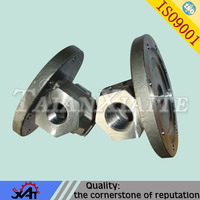 high precision casting steel valve bonnet for hydraulic valve spare parts