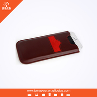 ODM service genuine leather mobile phone case