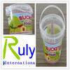 Good design Plastic Bucket Food Grade 1Litre Plastic Pails