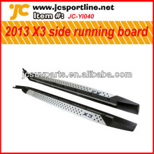 Aluminum alloy 2013 X3 side foot plate for BMW X3 side running board auto side step pedals