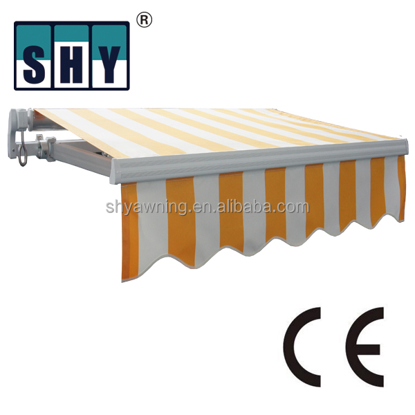 Manual Non-Cassette Awnings