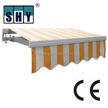 Manual non-kaset awning
