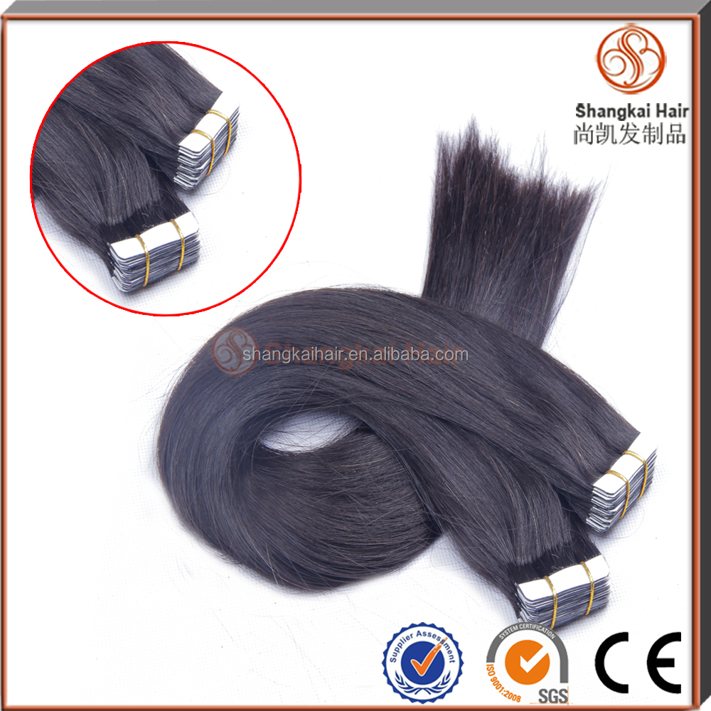 6A Grade Full Cuticle Remy Tape Hair Extension
