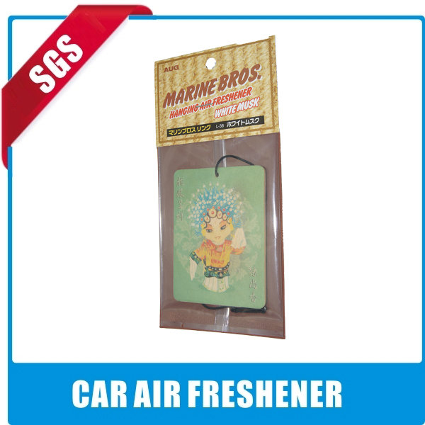 car auto home hanging smile air freshener scented air freshener fragrant paper