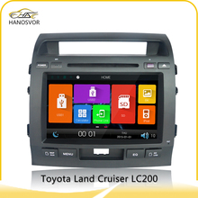 "8"" 800x480 gps navigation system car dvd player for toyota land cruiser prado (discount 20% off)"