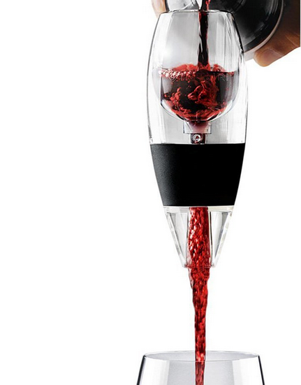 Professional Decanter Wine Aerator Pour Spout with No Leaks or Overflow