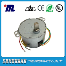 Single-phase Low rpm High Torque 5 watt 110 120 Volt AC Gear Synchronous Motor 50ktyz for electeic fans/ display stands
