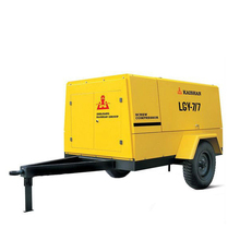 Kaishan( LGCY-7.5/7) Diesel Portable Screw Air Compressor For Mining Drilling Rig