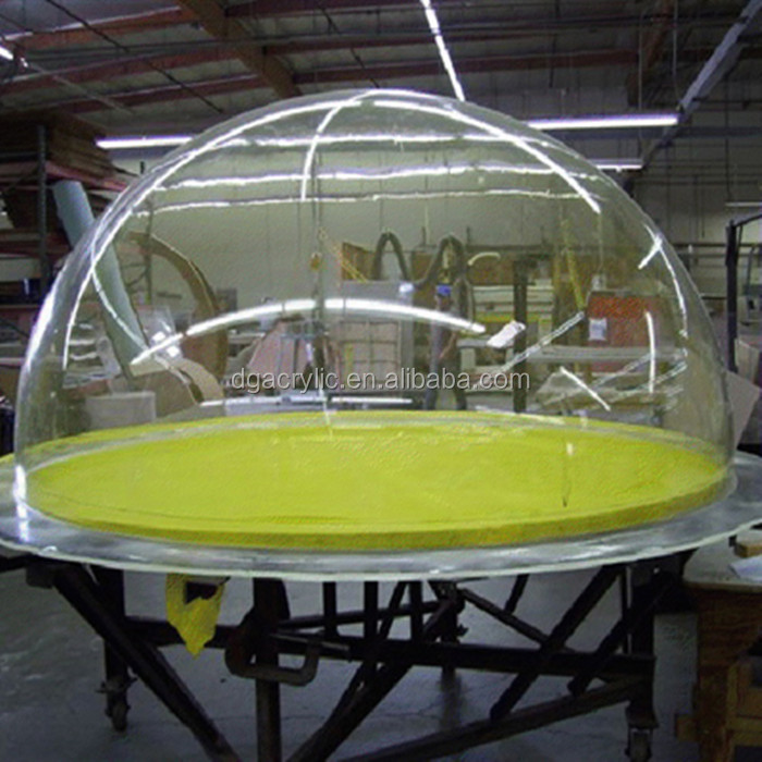Wholesale plastic clear transparent hemisphere 1m large acrylic dome