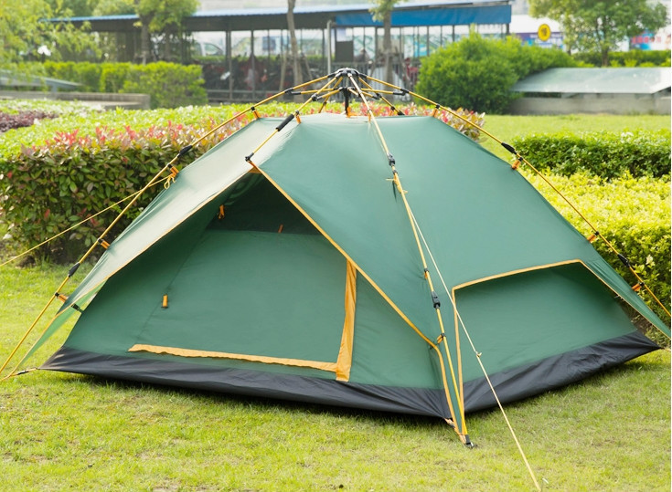 discount camping supplies 4 person tent sale