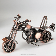 new fashion Art & collectible vintage iron model gift,cheap small motorcycle in skysweet(PR436)