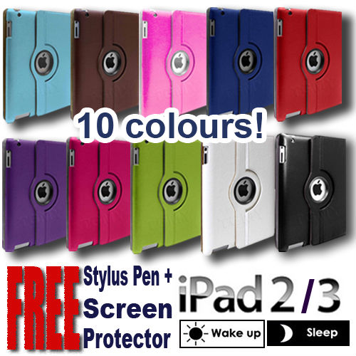 360 CASE FOR IPAD 2 IPAD 3 IPAD 4 iPAD AIrRETINA