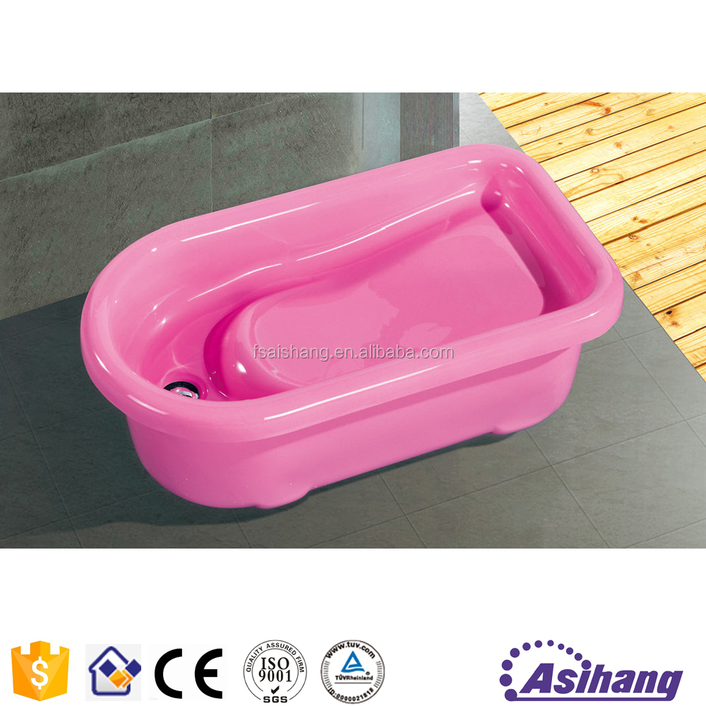 AS37020 mini plastic inflatable baby doll bathtub