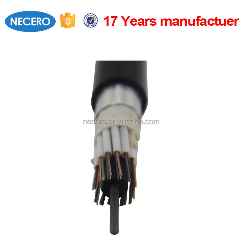 long life good mechanical performance GYTA outdoor patch cord direct burial fibre optic 4 core 6 core 8 core fiber optic cable
