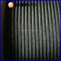 3/16 1/4 5/16 3/8 Dipped Galvanized Steel Strands cable 1x7 stranded wire rope galvanized