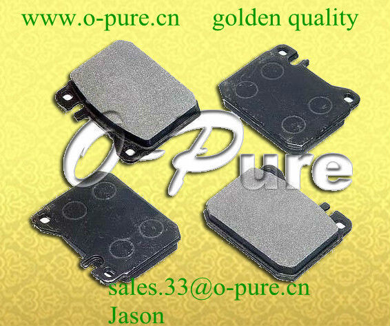 Mercedes spare part for w123 S123 C123 car part o-pure semi-metal brake pad abestos free high quality good price best seller