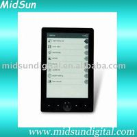 7 inch wifi kindle ebook reader color screen windows ce FM and 3G