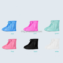 2017 plastic unisex waterproof rain shoes cover with reasonable price Rain boots