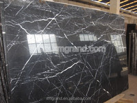 Chinese lowest price china black cultured marble slabs for bathroom sink, chinese marble