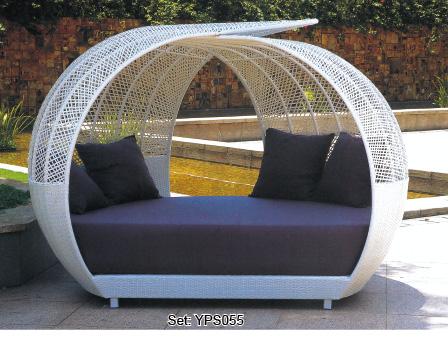 round rattan ourdoor bed outdoor swing yps058 buy round rattan outdoor bed outdoor swing round. Black Bedroom Furniture Sets. Home Design Ideas