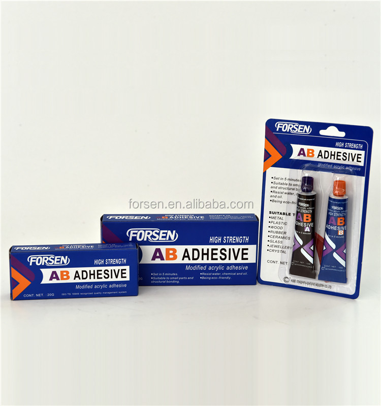 Epoxy Instant AB Glue Adhesives Two Components Srtong