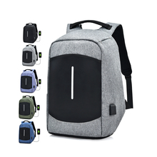 China supply 15.6 inches travel business waterproof usb antitheft <strong>backpack</strong> with charge system and headphone