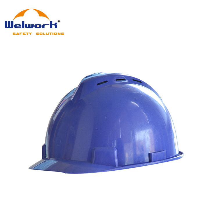 ABS or PE CE EN397 Standard Fireman Industrial Rescue Safety Helmets