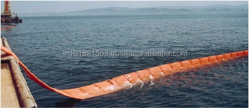 Oil Spill Containment Boom. PVC/PU SOLID FLOTATION /QUICK DEPLOYMENT