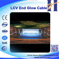 HUIYUAN Easy installed plastic fibre optic lighting
