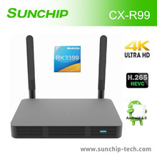 Newest Set Top Box 2017 Hot Products Rockchip 64 bit RK3399 CPU TV BOX