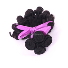 Micro Bead Weft Hair Extension , 100% Natural Remy Virgin Peruvian Micro Loop / Ring Human Hair Extensions for Black People