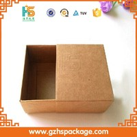 craft paper packaging gift box for slides case boxes
