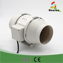 Mixed flow ventilation plastic duct exhaust inline fan inline duct fan inline fan