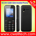 ECON G220 1.8 Inch Full Mirror Screen Loudspaker Single SIM Card 5 Colors GSM Mobile Phone