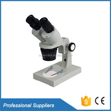 Professional microscope 30X 40X switchzoom illuminated led stereo microscope