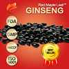 Natural American Ginseng Capsules, Softgels, supplement - Manufacturer, Price, OEM, Private Label
