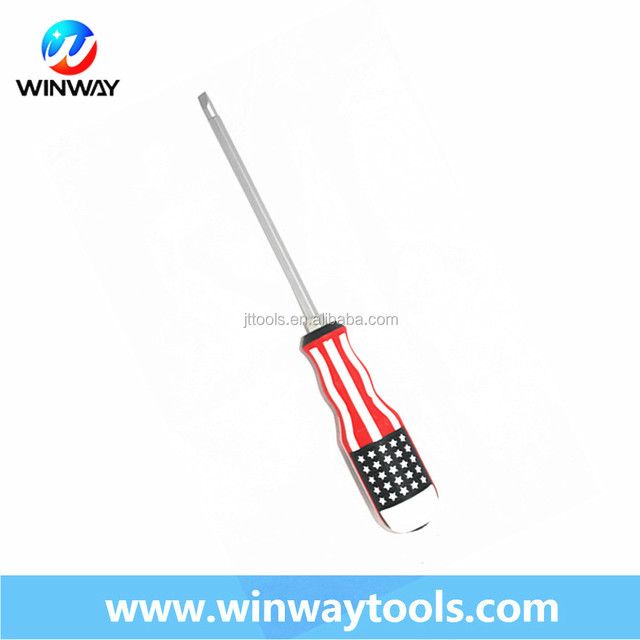 double side use flag handle philips and flat precision screwdriver set