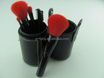5 Pcs Maleta De Maquiagem Profissional Kit Makeup Holder Black Color Makeup Kit