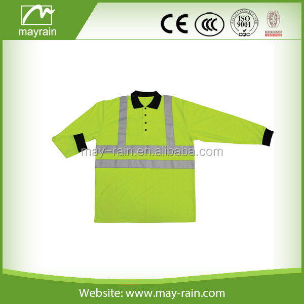 workwear waterproof safety long sleeves shirt