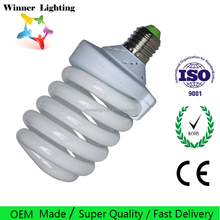 E27 Full Sprial Energy Saving light High Watt Compact Fluorescent Lamp