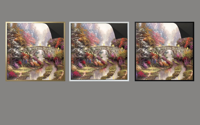 top quality wholesale magnetic frame & picture Thomas kinkaides 1013-163 print magnetic paintings