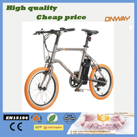 Rear wheel high speed motor 20 inch city bike electric